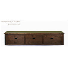 Modern Benches by Spiritcraft Fine Furniture and Cabinet Makers