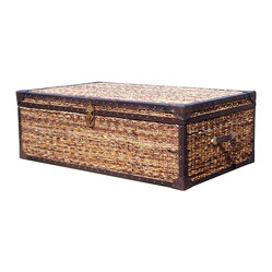 "Lanai Wicker Trunk Coffee Table 50"" X 30"""