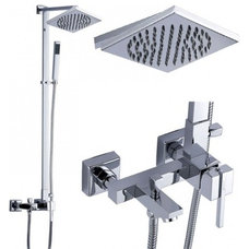 Modern Bathroom Faucets And Showerheads by Jollyhome