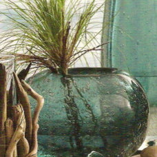 Tropical Vases by Heaven's Gate Home and Garden, LLC
