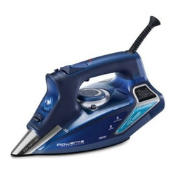 Rowenta - Rowenta Steam Force Iron - This revolutionary Steam Force iron is equipped with a state of the art injection system. The built in pump injection system efficiently combines steam and power to deliver 30% more steam for professional ironing results on all types of fabrics.