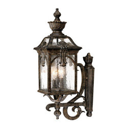 "Acclaim Lighting - Acclaim Lighting 7121 Belmont 3 Light 28.5"" Height Outdoor Wall Sconce - Acclaim Lighting 7121 Belmont Three Light 28.5"" Height Outdoor Wall SconceThis wall sconce from the Belmont Collection of exterior lights features a multitude of ornamental accents and baroque flourishes.Acclaim Lighting 7121 Features:"