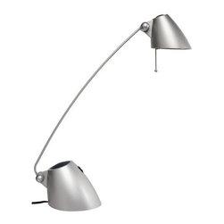 Dainolite - Dainolite DLHA111-SV 1 Light Table Lamp - Features: