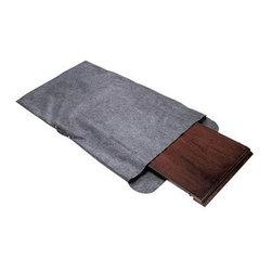 "Richards Homewares - Richards Homewares Table Leaf Storage Bag with Handle-Grey - * Holds a table leaf up to 29"" x 50"""