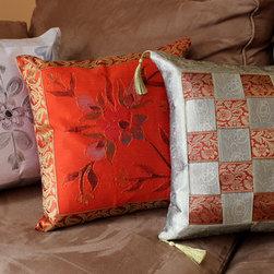 Banarsi Designs - Fun Decorative Pillow Combinations - Transform any pillow into a piece of art with decorative pillow covers from Banarsi Designs.