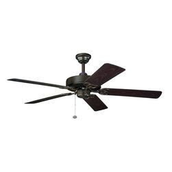 Kichler Traditional/ Classic Outdoor Ceiling Fan - A porch is complete with a nice ceiling fan, and this one does it in style.