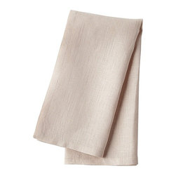 Serena & Lily - Washed Linen Napkin Blush (Set of 4) - These blush linen napkins are the perfect shade of neutral pink. They would be so pretty used with all-white dishware and metallic accents.