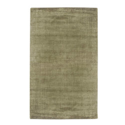 Spectrum SPE-5303 Sage Rug - 2'x3' - Spectrum SPE-5303 Sage: With monochrome light color and textured high-low pile in geometric designs, this contemporary area rug is a subtle modern element where a soothing foundation is desired. This rug is hand loomed in India and expertly finished for comfort and fashion. his Contemporary area rug is Hand Woven in India with 100% New Zealand Wool. The specific colors of this rug include Sage. he primary color of this rug is green.