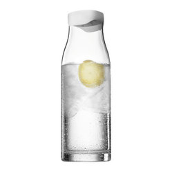 MENU - Water Carafe - A water carafe will get years of good use in your home — especially one that can be sealed for freshness. This design will have you hydrating in style. Just add a few slices of lemon, cucumber and a sprig of mint, and you'll be ready to sit back, relax and enjoy.