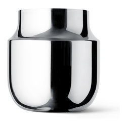 Menu - GamFratesi Tactile Vase, Wide - It's all in the mix. Expressing the raw and the delicate using both matte and polished finish to make something familiar, seem brand new.