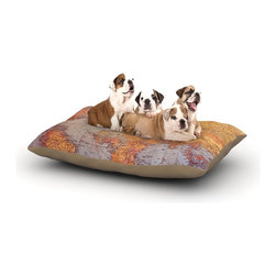 "Kess InHouse - Sylvia Cook ""Seattle Skyline"" City Clouds Fleece Dog Bed (30"" x 40"") - Pets deserve to be as comfortable as their humans! These dog beds not only give your pet the utmost comfort with their fleece cozy top but they match your house and decor! Kess Inhouse gives your pet some style by adding vivaciously artistic work onto their favorite place to lay, their bed! What's the best part? These are totally machine washable, just unzip the cover and throw it in the washing machine!"