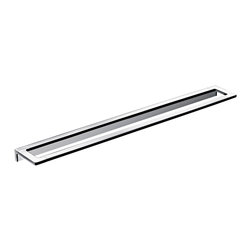 "WS Bath Collections - Asio 1360.204.80 Towel Bar 31.5"" - Asio 1360.204.80, 31.5"" x 3.3"", Towel Bar in Polished Chrome"