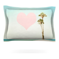 "Kess InHouse - Bree Madden ""Summer Lovin'"" Pillow Sham (Cotton, 30"" x 20"") - Pairing your already chic duvet cover with playful pillow shams is the perfect way to tie your bedroom together. There are endless possibilities to feed your artistic palette with these imaginative pillow shams. It will looks so elegant you won't want ruin the masterpiece you have created when you go to bed. Not only are these pillow shams nice to look at they are also made from a high quality cotton blend. They are so soft that they will elevate your sleep up to level that is beyond Cloud 9. We always print our goods with the highest quality printing process in order to maintain the integrity of the art that you are adeptly displaying. This means that you won't have to worry about your art fading or your sham loosing it's freshness."