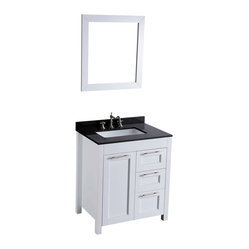 SB-267-1 Single Vanity with Mirror
