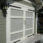 Historic Shed Carriage House Style Doors -