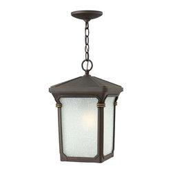 Hinkley Lighting - Hinkley Lighting 1352OZ Stratford Bronze Outdoor Hanging Lantern - Hinkley Lighting 1352OZ Stratford Bronze Outdoor Hanging Lantern