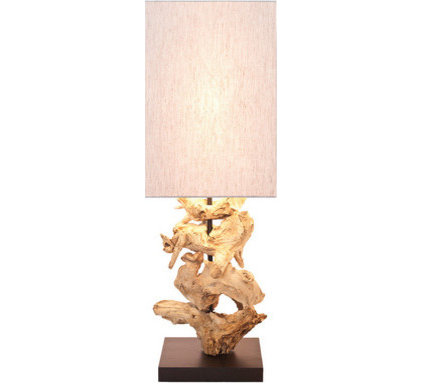 tropical table lamps by Urban Barn
