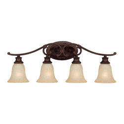 Capital Lighting - Capital Lighting 1884BB-252 Burnished Bronze 4 Light Vanity Fixture - Capital Lighting 1884BB-252 4 Light Hill House Bathroom Light, Burnished Bronze This item by Capital Lighting is offered in a burnished bronze finish.