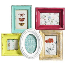 Contemporary Picture Frames by Berry Red