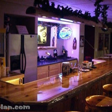 Traditional  by Easy Home Bar Plans