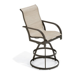Outdoor Furniture - Key West sling barstool | Lawn & Leisure