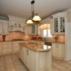 Traditional Kitchen Cabinets by Nika Groups Woodworking