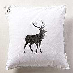 Anthropologie - Elk Pillow - *By Kriss LeCocq