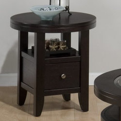 Jofran Marlon Wenge End Table - Round