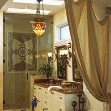 Traditional Bathroom by Kristin Lam Interiors