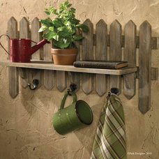 Traditional Display And Wall Shelves  by Everything Primitives