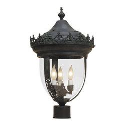 JVI Designs - JVI Designs 1122 3 light Post Lights Post Light Outdoor Lighting collec - JVI Designs 1122 Features: