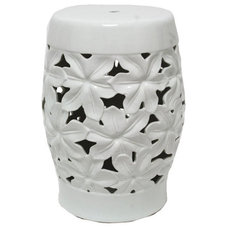 Contemporary Accent And Garden Stools by Inside Avenue