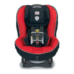 Britax - Marathon Convertible 70-G3 Car Seat - The Britax Marathon70-G3 convertible car seat accommodates children rear facing from 5 to 40 pounds and forward facing from 20 up to 70 pounds. The Marathon 70-G3 is purposefully designed and engineered to minimize the forward movement of your child's head during a frontal impact to reduce the risk of head injury with the following revolutionary BRITAX head safety technologies. The Marathon 70-G3 also incorporates Britax Side Impact Protection to contain the child and protect from the most severe types of crashes. The five-point harness is tangle-free with an EZ-buckle system to retain the harness buckle in a forward position and harness holders that keep harness straps pulled to the sides to make boarding quick and hassle-free. Other features include a no-rethread harness and an easy-remove cover that also allows access to belt paths from the front of the seat, while the multiple buckle and recline positions, comfort pads, and infant body pillow provide premium comfort and positioning. Features: -Base with SafeCell Technology features SafeCells designed to compress in a crash, significantly lowering the center of gravity and counteracting the forward rotation of the child seat which normally propels the child toward the front seat.-Integrated Steel Bars strengthen the connection to the vehicle and reduce forward flexing of the child seat during a crash.-Energy Absorbing Versa-Tether features a staged-release tether webbing to slow the forward movement, reducing the crash forces reaching the child, and a two-point attachment to minimize forward rotation while anchoring the top of the child seat.-Hugs (Harness Ultra Guard System) Chest Pads provides resistance to forward movement in the event of a crash.-Side Impact Protection comprised of deep side walls lined with energy-absorbing EPP foam distributes crash forces, shields from vehicle intrusion, and contains the head, neck and body.-Tangle-Free, Five-Point Harness distributes crash forces across the strongest parts of the body and provides a secure fit.-70-pound Weight Capacity for safety and comfort as your child grows.-Rear and Forward Facing Recline for child comfort and positioning.-High Density Comfort Foam provides an extra layer of padding to gently cushion your child.-Plush, Easy-Remove Cover with matching comfort pads and Infant body pillow to provide extra comfort and easy cleaning without disassembling or uninstalling the child seat.-Two Buckle Positions for your growing child.-Infant Positioning Insert may be necessary for small infants to achieve a snug fit of the harness around your child (sold separately).-Quick-Adjust Harness repositions the harness shoulder height without disassembling the harness straps.-Premium Lower Latch Connectors for a quick and simple installation featuring a push button for easy release.-EZ-Buckle System retains the harness buckle in a forward position and prevents the child from sitting on the buckle when boarding.-Harness Holders keep harness straps pulled to the sides when placing your child in the car seat.-Built-in Lock-Offs ensure a snug lap and shoulder belt installation with minimal effort.-Anti-Slip, Contoured Base grips and protects the vehicle seat while offering optimum vehicle fit.-Collection: Marathon.-Distressed: No.-Country of Manufacture: United States.Dimensions: -Overall Product Weight: 19.5 lbs.