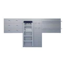 Flow Wall Systems - Flow Wall 48-foot Bonus Hook Starter Pack - The Flow Wall 48-foot starter pack features two lightweight,durable panels that form the foundation of the Flow Wall organization system. Once installed,the combined modular panels can turn any wall into an adaptable organization system.