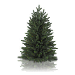 "Balsam Hill - 28"" Balsam Hill® Poconos Pine Mini Artificial Christmas Tree - The Poconos Pine mini artificial Christmas tree channels the picturesque scenery of the Pocono Mountains in a charming, pint-sized form. At 28 inches  tall, these mini trees are ideal for tables, counters, and office desks. The classic unlit version comes with a plastic tree stand. As the best artificial Christmas tree manufacturer that is the #1 choice for set designers for TV shows such as ""Ellen"" and ""The Today Show"", in addition to being a recipient of the Good Housekeeping Seal of Approval, our trees are backed by either a 10-year or 5-year foliage warranty (depends on the size of the tree) and a 3-year light warranty. Free shipping when you buy today!"