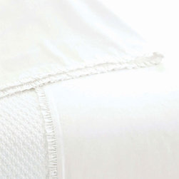 Pine Cone Hill - petite ruffle pillowcase (white) - This item comes in��white.��This item size is��various sizes.