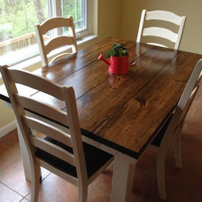 Farmhouse Dining Tables by James and James Furniture
