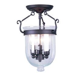 Livex Lighting - Livex Lighting 5061-07 Ceiling Light/Flush Mount Light - Livex Lighting 5061-07 Ceiling Light/Flush Mount Light