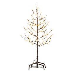 Lightshare - Lightshare Star Light Tree: 10 LED Star Light, Warm White, 3ft 112 Lights - Description: