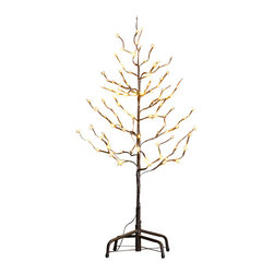 Lightshare - Lightshare Star Light Tree: 10 LED Star Light, Warm White, 3ft 112 Lights - Description: