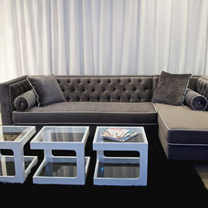 Eclectic Sectional Sofas by Decenni Custom Furniture