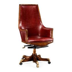 Jonathan Charles - New Jonathan Charles Office Chair Walnut - Product Details