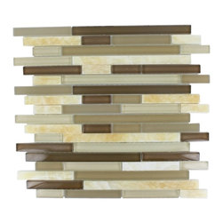 TAO TOFFEE MARBLE & GLASS TILES -