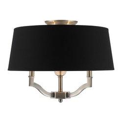 Golden Lighting - Golden Lighting 3500-SF-GRM Waverly 3 Light Semi Flush Ceiling Fixture - Features: