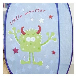 Store51 LLC - Little Monster Pop-up Hamper - FEATURES: