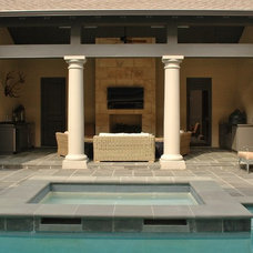 Traditional Pool by Anderson Homes