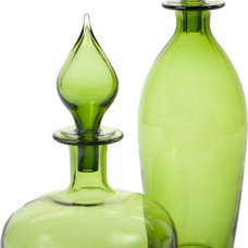 eclectic vases Sultan Canisters - Apple Green