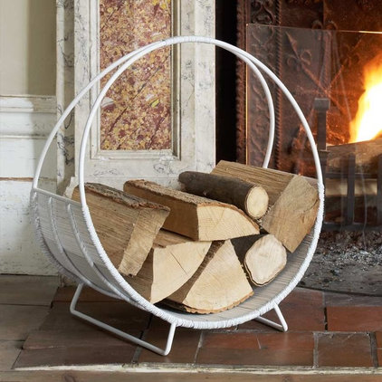 modern fireplace accessories by Graham and Green