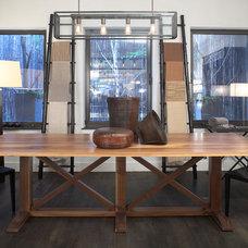 Modern Pendant Lighting by interieurs by Francine Gardner