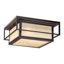 """Vaxcel - Vaxcel RB-OFU120EB Robie 12"""" Outdoor Flush mount Espresso Bronze - Vaxcel RB-OFU120EB Robie 12"""" Outdoor Flush mount Espresso Bronze"""